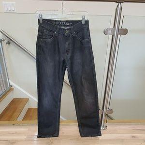 Free Planet boy's jeans. Size 14